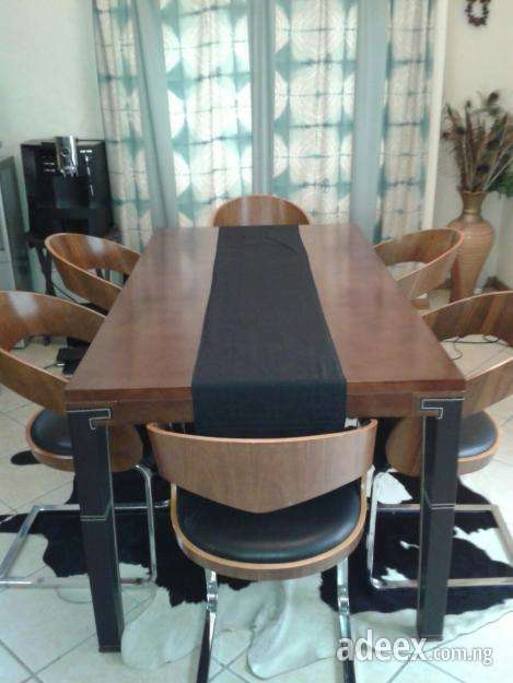Sale Used 6 Dining Chairs With Table Ngn 120000 Neat And Crisp