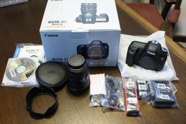 Canon eos 5d mark iii cameras 3lens kit