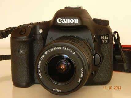 Canon eos 7d digital slr camera 3lens kit