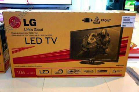 42lgoriginal tvsmart led resolution/hdmi tv with full accessories and warranty call mr has