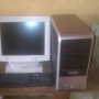 clean uk used white computer,dell product with all accessories