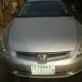 Registered Honda Accord (EOD) 2004