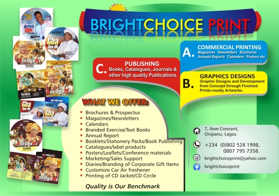 Brightchoice printing concept