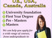 Study in UK,Usa,Australia,Canada For September intake 2015