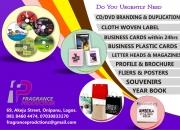 CD/DVD Printing & Duplication, Business Cards, Banner, Stickers, Handbills, Posters,etc