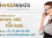 iWebLeads.com: Phone Us +91 76 984 66 985 to Buy Leads Inbox PHP Mailer SMTPs Webmail etc.