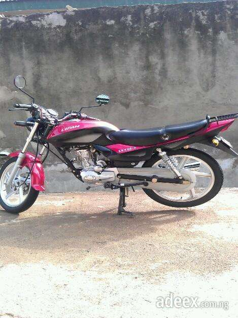 The best offer clean fairly used motorcycle for sale.