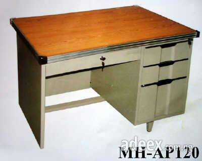 Metal Office Table With 3 Drawers At Alfim Ltd On