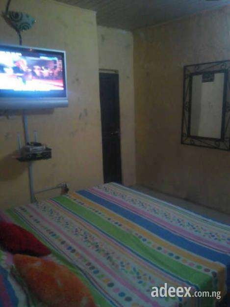 Not even a scratch beautiful furnished a room self contain @ morrocco, fadeyi close to yabatech buy it now or best offer