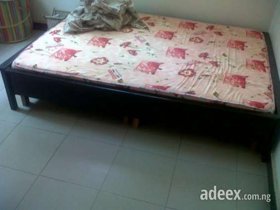 Half Priced New 4 By 6 Bed Frame With Mattress Cheap In Abuja