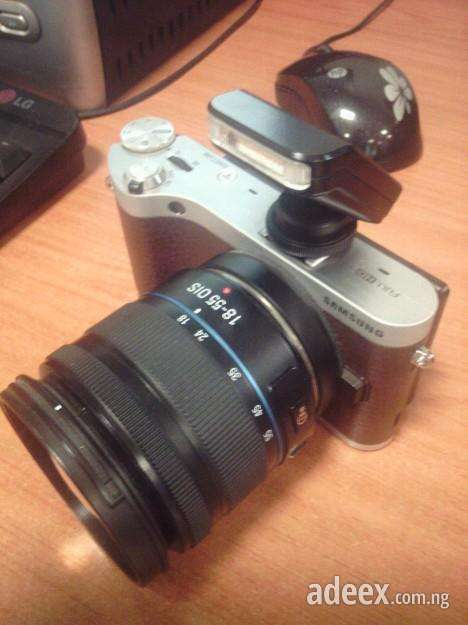 On sale now samsung nx300 digital camera with an inbuilt wifi almost new