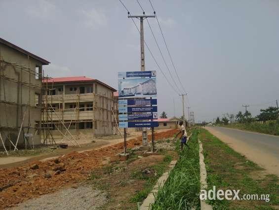 Lagos state housing estate agbowa.