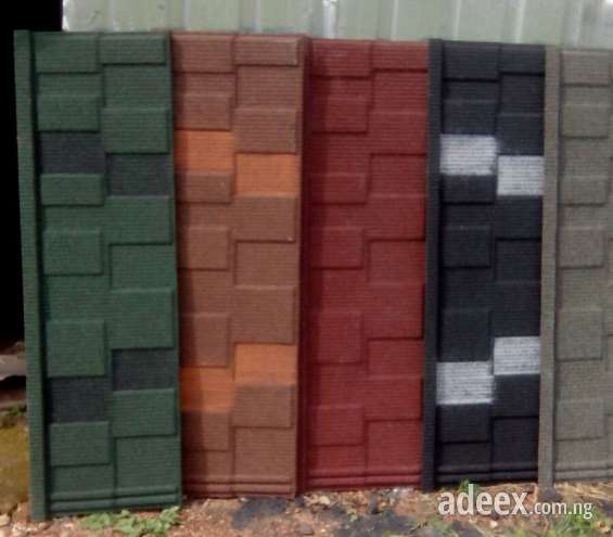Shingle stone coated roofing sheets in abuja