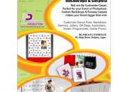 CD/DVD Printing, Poster, Flex Banner, Keyholder, Air Freshener, Business Card, Gift Bag